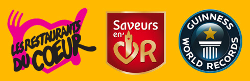 restaurants du coeur, saveur en or, guinness world record