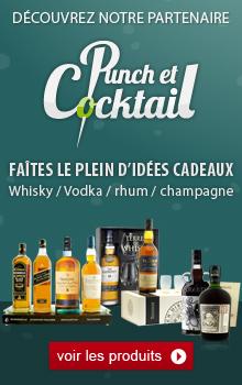 Punch et cocktail le spécialiste spiritueux sur internet